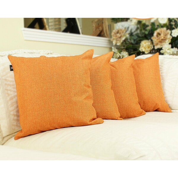 Cotton Pillow Cover (Set of 4) by DL Furniture| @ $41.99