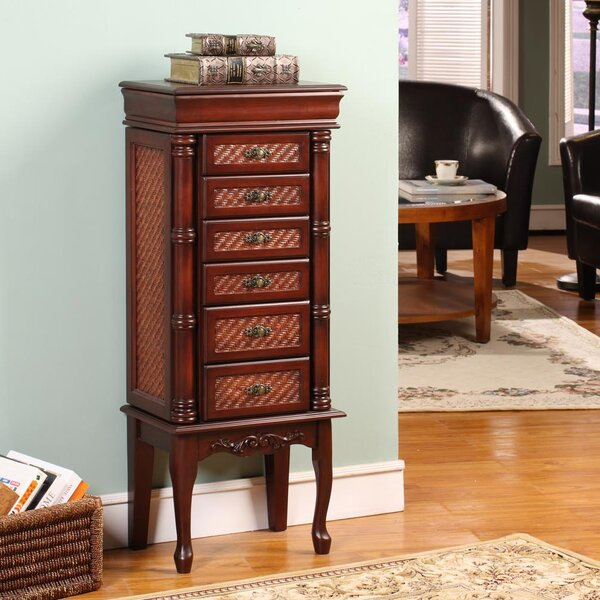 Mandalay Classic Jewelry Armoire with Mirror by Wildon Home ®