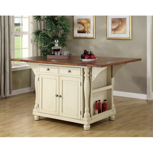 Petersburg Kitchen Island by Canora Grey