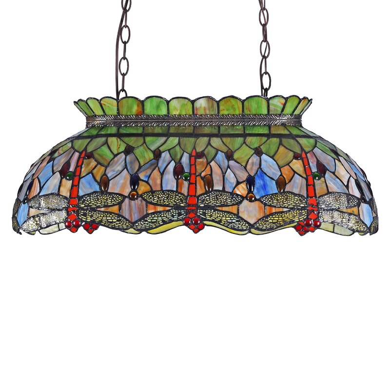 Astoria Grand Thames Dragonfly 3-Light Pool Table Light