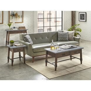St Andrews 3 Piece Coffee Table Set Millwood Pines