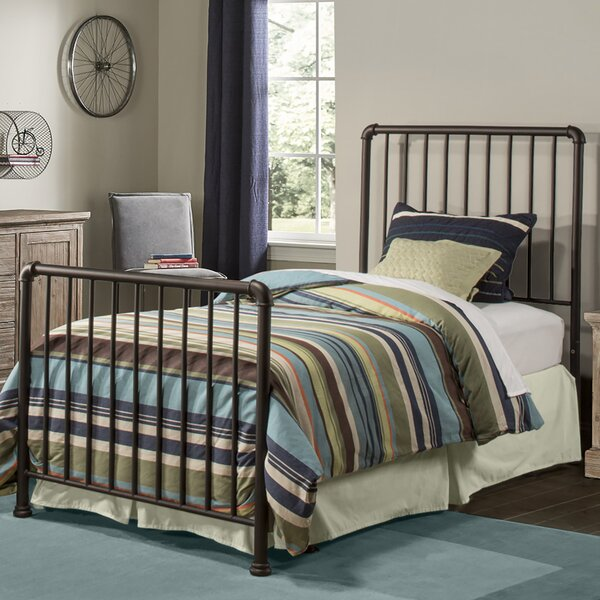 Wanger Twin Slat Bed with Frame by Harriet Bee