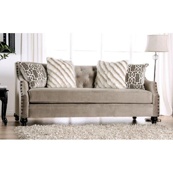Onamia Button Tufted Sofa By Canora Grey