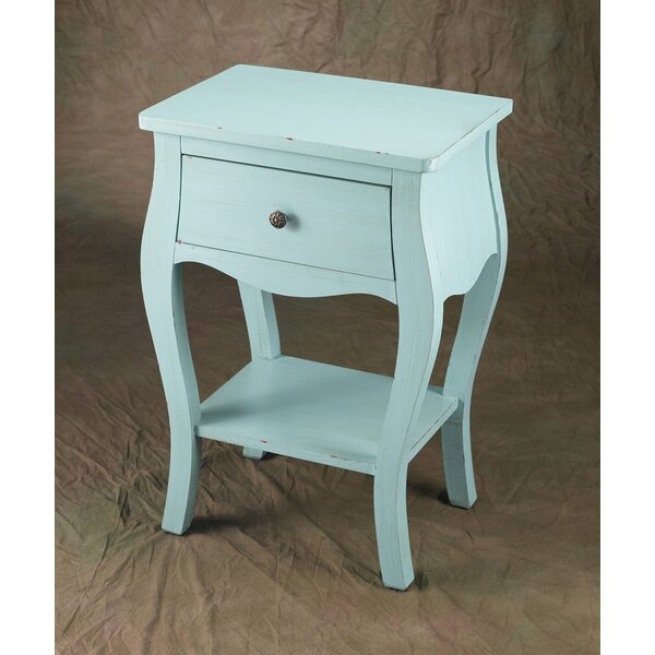 Chriopher End Table by August Grove