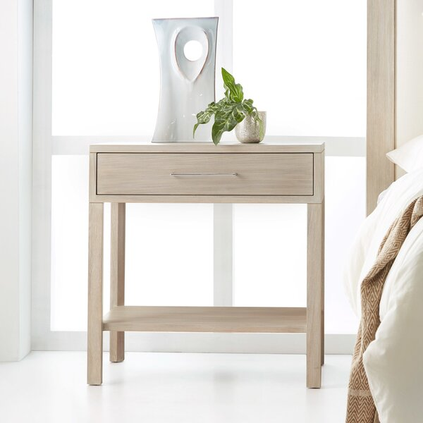 Maui 1 Drawer Nightstand by Modern History Home