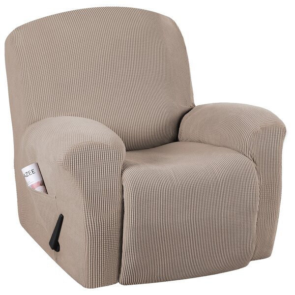 Spandex Box Cushion Recliner Slipcover By Red Barrel Studio