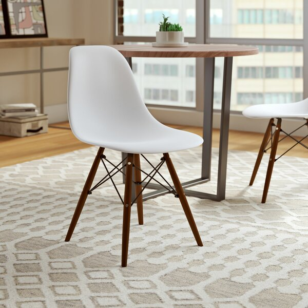 Whiteaker Molded Plastic Dining Chair by Wrought Studio