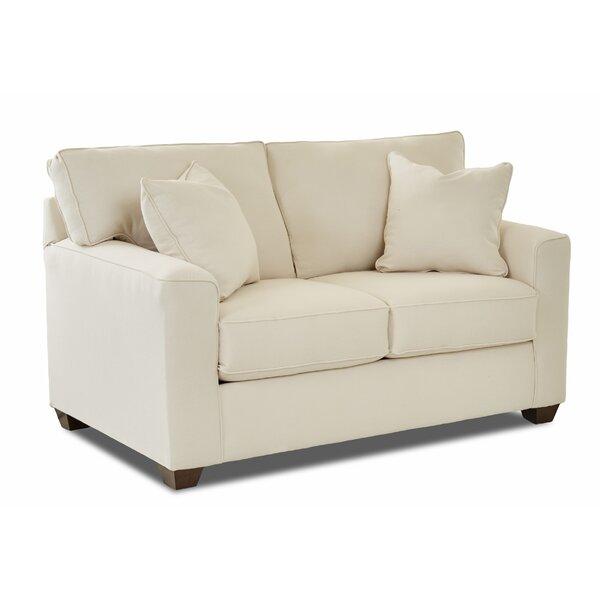 Lesley Loveseat by Wayfair Custom Upholstery™