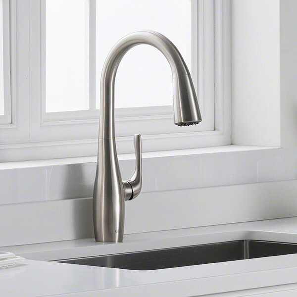 Esina Pull Down Single Handle Kitchen Faucet by Kraus