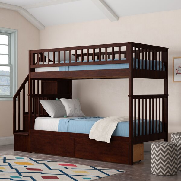 Shyann Twin over Twin Bunk Bed with 2 Drawers by Viv + Rae