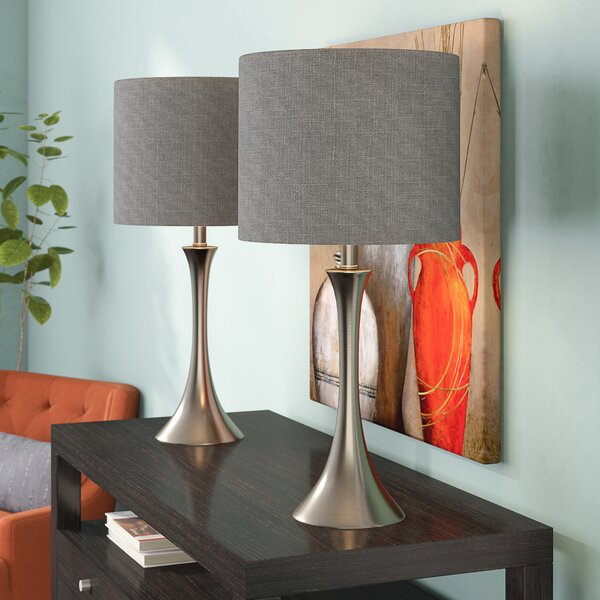 Chesterfield 2 Piece Table Lamp Set (Set of 2) by Alcott Hill
