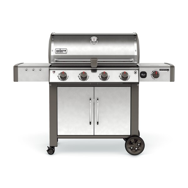 Genesis II LX S-440 4-Burner Natural Gas Grill with Side Burner by Weber