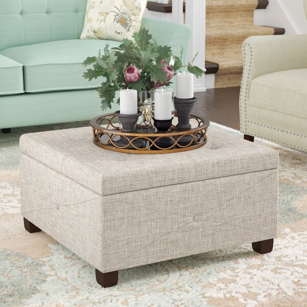 Bantom Tufted Storage Ottoman by Darby Home Co