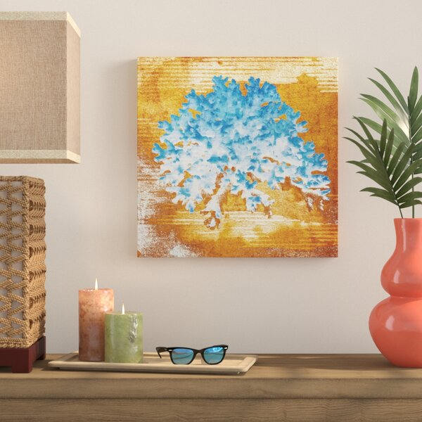 Coral Impressions Painting Print on Wrapped Canvas by Bay Isle Home