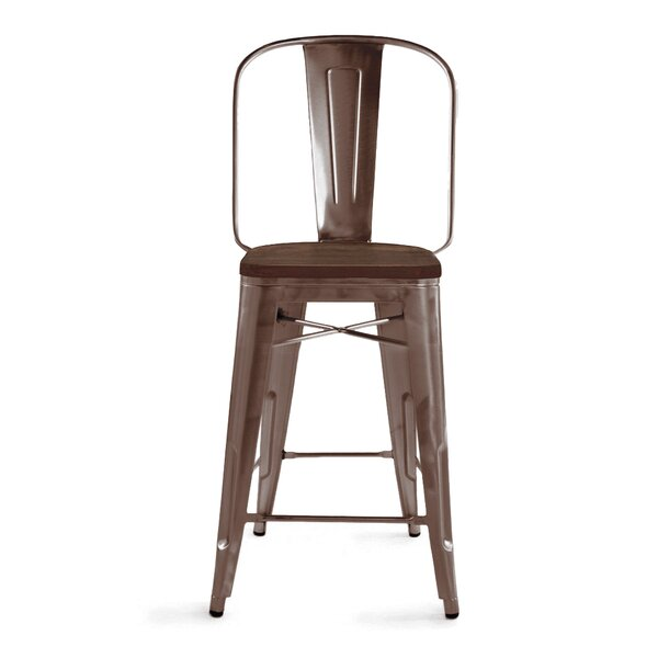 Halie 26 Bar Stool (Set of 4) by Trent Austin Design