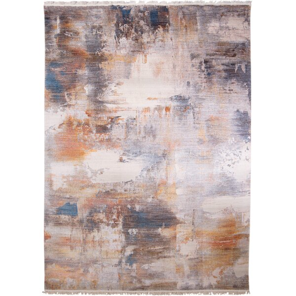 Bulter Gray/Brown Area Rug by Wrought Studio
