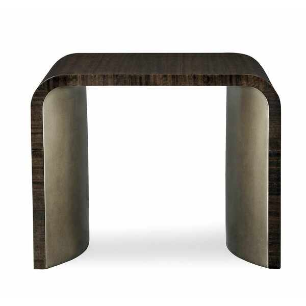 Modern Streamline Sled End Table By Caracole Modern