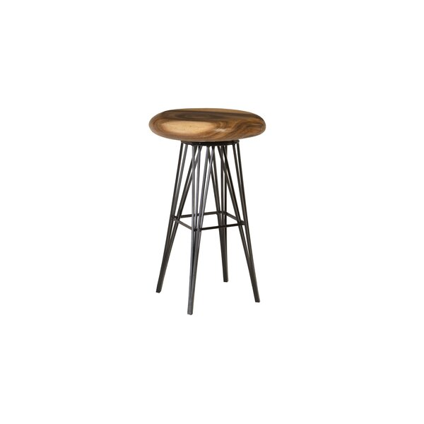 Swivel Solid Wood 28'' Bar Stool by Phillips Collection Phillips Collection