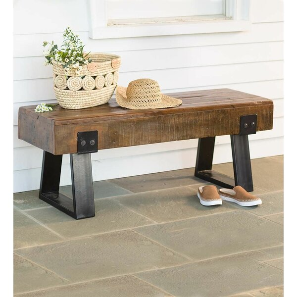 Richland Outdoor Wood Bench by Plow & Hearth