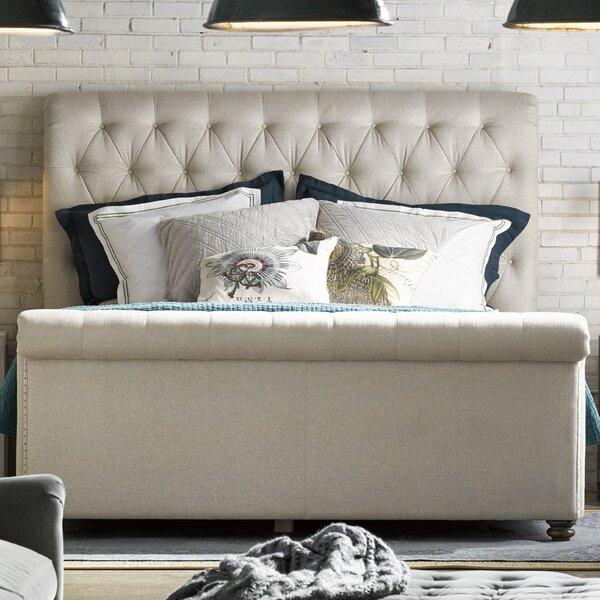 Benson Upholstered Sleigh Bed by Birch Lane Heritage Birch Lane™ Heritage