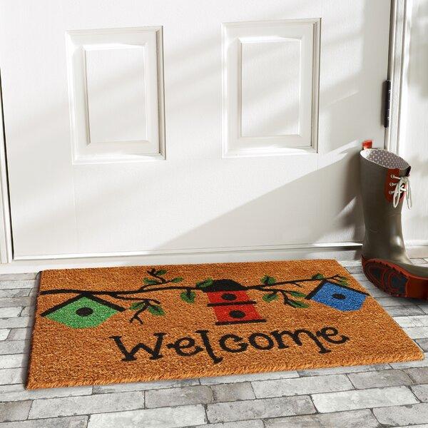 Birdhouse Welcome Doormat by Home & More
