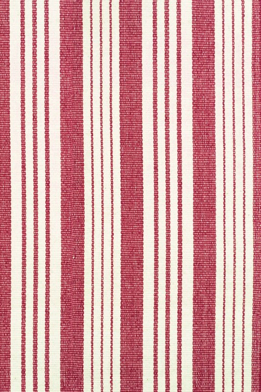 Dash And Albert Rugs Flat Woven Red White Area Rug