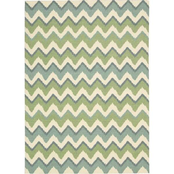 Villano Blue Area Rug by Beachcrest Home
