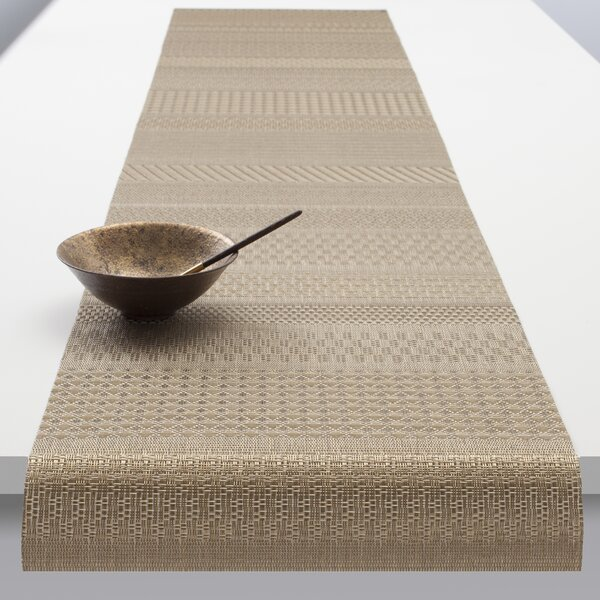 Mixed Weave Luxe Table Runner by Chilewich