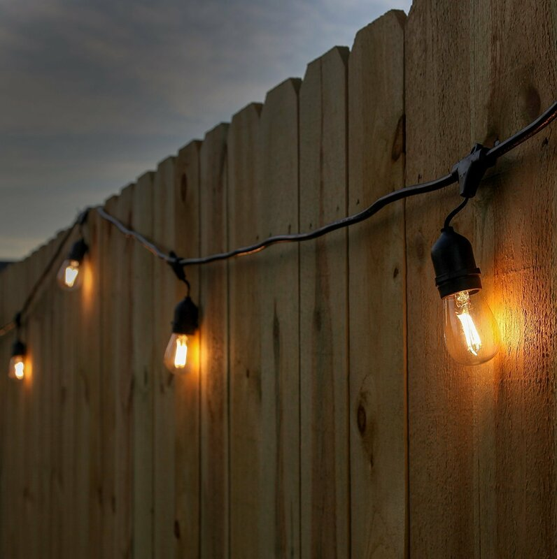 Newhouse Lighting 15 Light Commercial Grade Outdoor Weatherproof Led String Lights Reviews