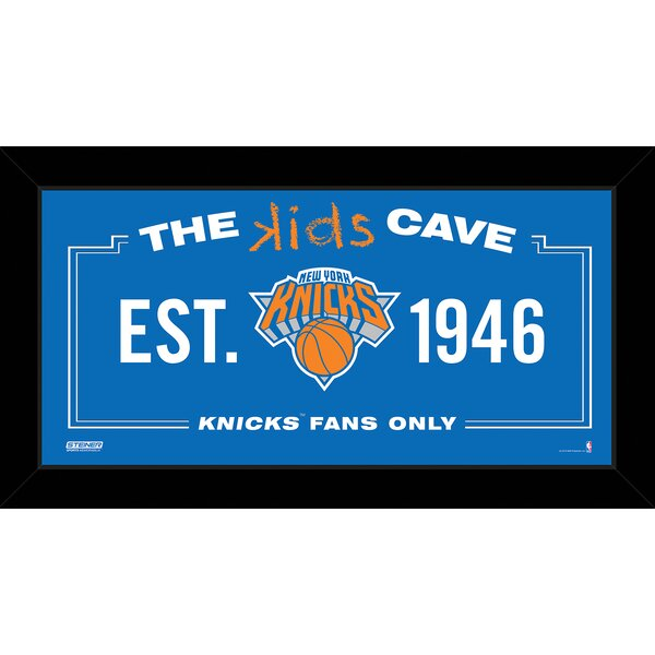 Kids Cave Textual Art by Steiner Sports