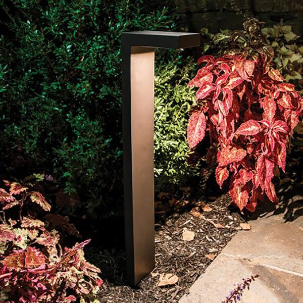 Ledge Low Voltage Hardwired LED Pathway Light by WAC Lighting