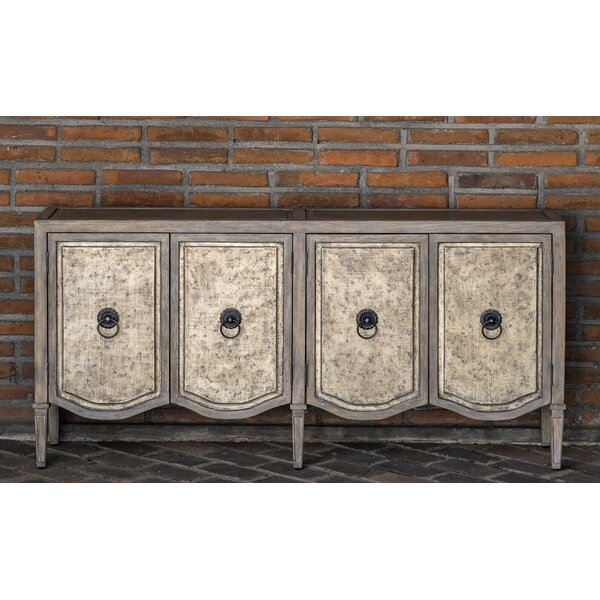 Drusilla 4 Door Accent Cabinet by August Grove