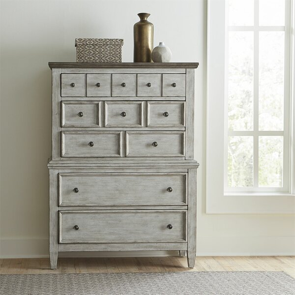 Goshen 5 Drawer Chest By Gracie Oaks Discount