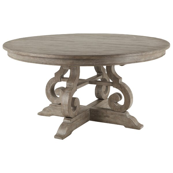 Ellenton Solid Wood Dining Table by Greyleigh