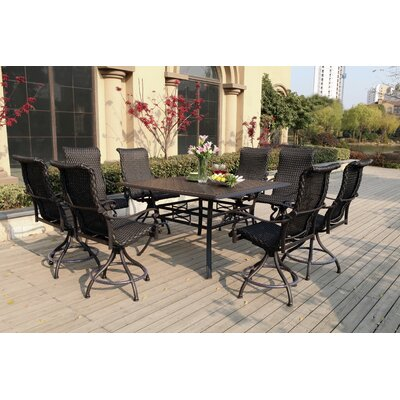 bar height patio sets wayfair. Black Bedroom Furniture Sets. Home Design Ideas