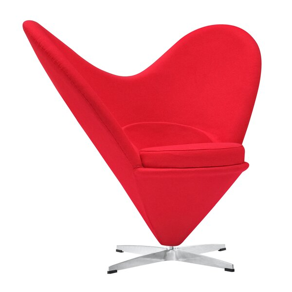 Heart Lounge Chair by Fine Mod Imports