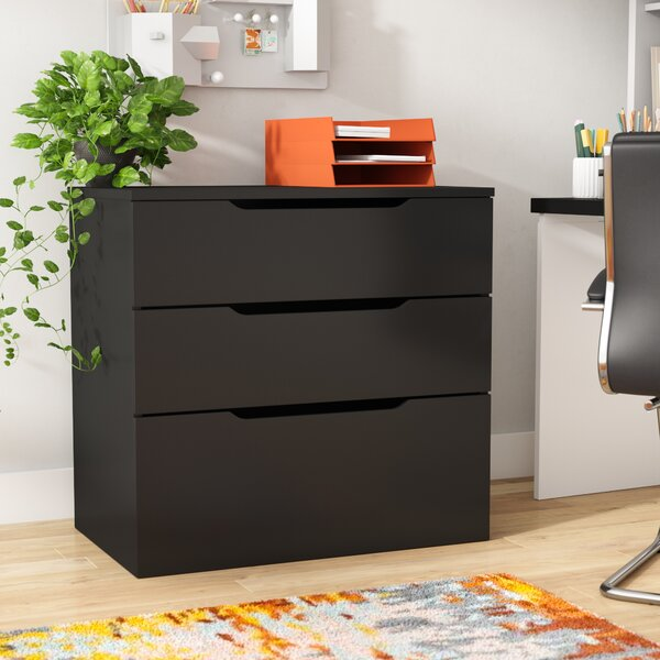 Darla 3-Drawer Filing Cabinet by Latitude Run