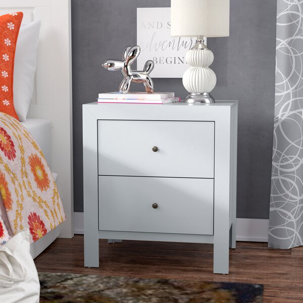 Kennon 2 Drawer Nightstand By Three Posts by Three Posts Wonderful