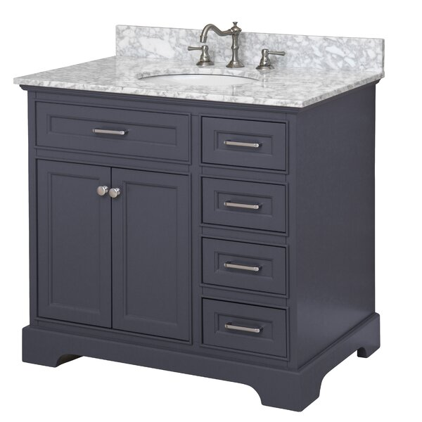 Aria 36 Single Bathroom Vanity Set by Kitchen Bath Collection