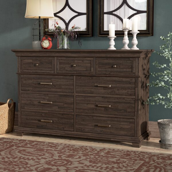 Colborne 9 Drawer Double Dresser by Laurel Foundry Modern Farmhouse