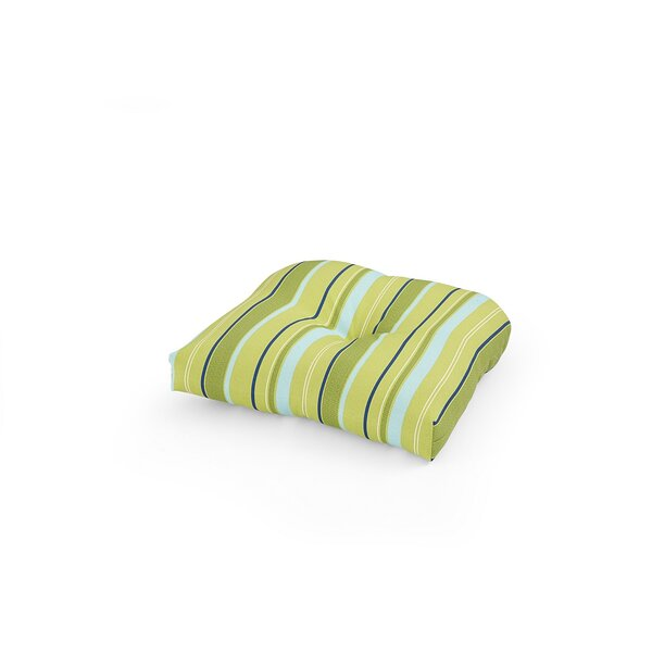 Indoor/Outdoor Stripe Dining Chair Cushion (Set Of 2) By Bay Isle Home
