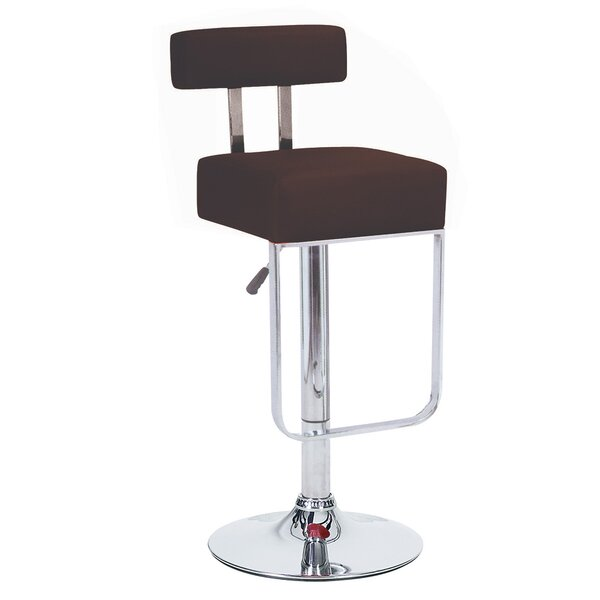 Blok Adjustable Height Swivel Bar Stool (Set of 4) by Vandue Corporation