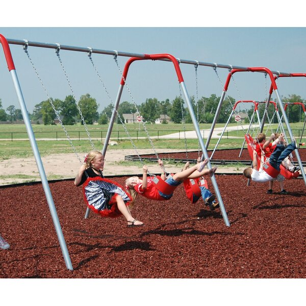 Bipod Swing Set by Kidstuff Playsystems, Inc.