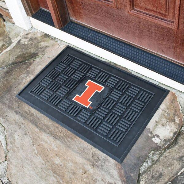 NCAA University of Illinois Medallion Door Mat by FANMATS