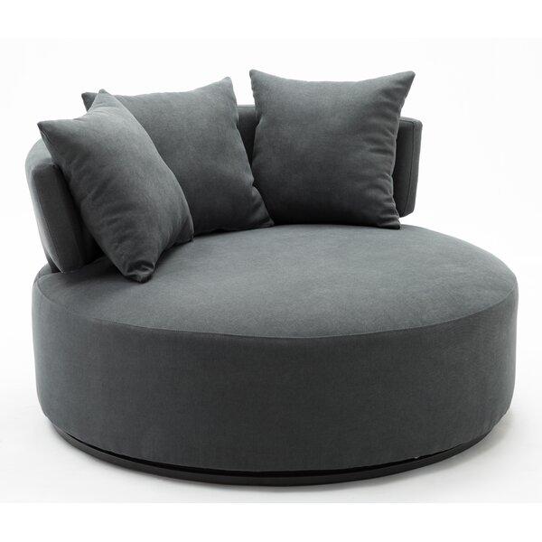 Horka Swivel Chair and a Half by Orren Ellis Orren Ellis