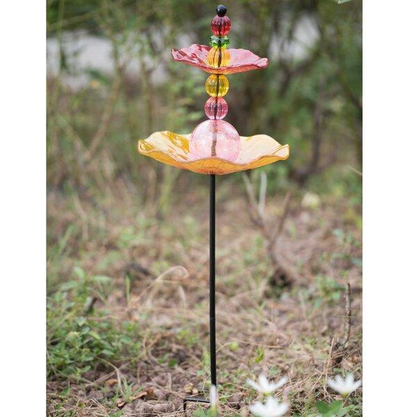 Garden Decorative Tray Bird Feeder by Sunjoy