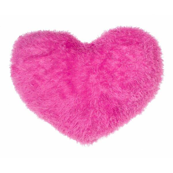 Heart Throw Pillow by 14 Karat Home Inc.