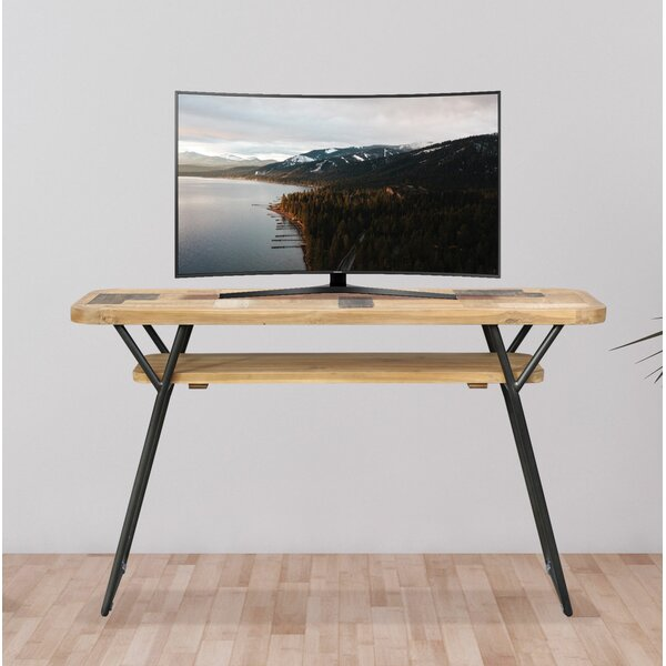 Angulo Solid Wood TV Stand For TVs Up To 50