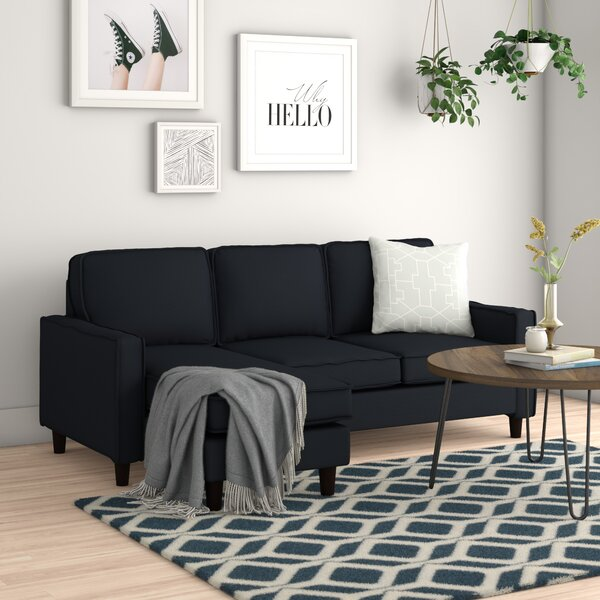 Cleora Modern Small Space Sectional by Zipcode Design
