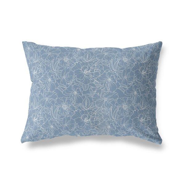 Aticus Flower Power Indoor/Outdoor Lumbar Pillow